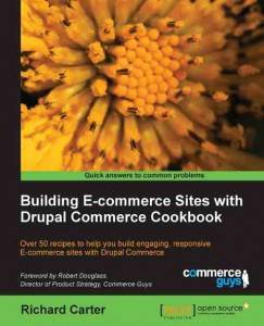 Drupal Commerce Cookbook cover photo