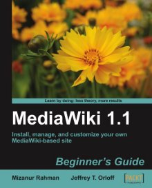 MediaWiki 1.1 Beginner's Guide book