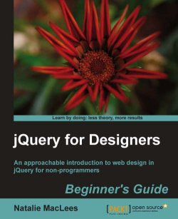 jQuery for Beginners book by Natalie MacLees