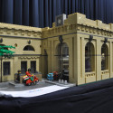 LEGO model of Newcastle Central Station