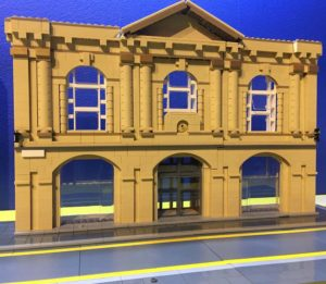 LEGO model of Customs House theatre in South Shields