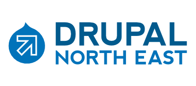 Drupal North East user group logo